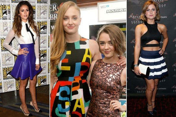 All the Hottest Looks from Comic-Con 2014