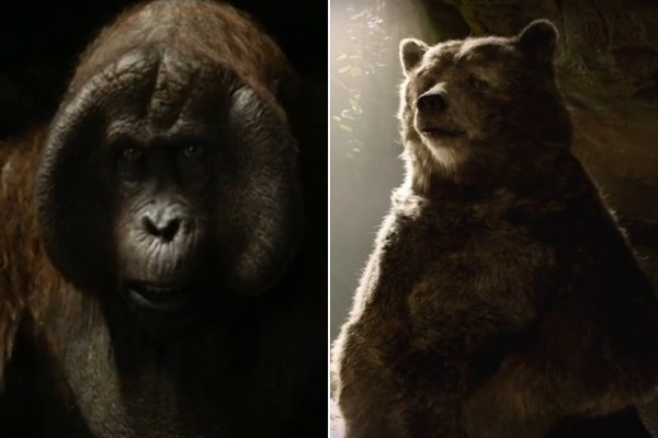 King Louie and Baloo Look Absolutely Majestic in the New 'Jungle Book'