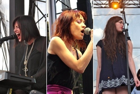 Zimbio's Best Pictures from NYC's Governors Ball Festival 2012