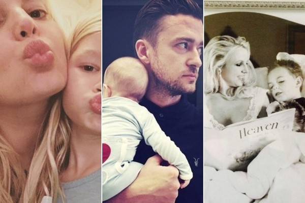 All the Celebs We Know Are Parents - 2015 vs 2000 - How Has