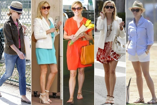 Reese Witherspoon's 5 Summery Outfit Ideas