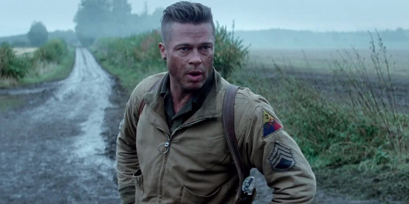 Who S The Manliest Man In The New Fury Trailer Beyond