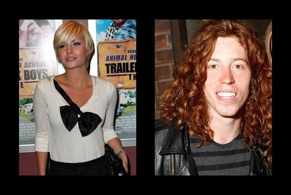 Elisha Cuthbert was rumored to be with Shaun White