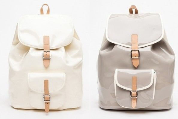 Yes Please: Patent Leather Backpacks