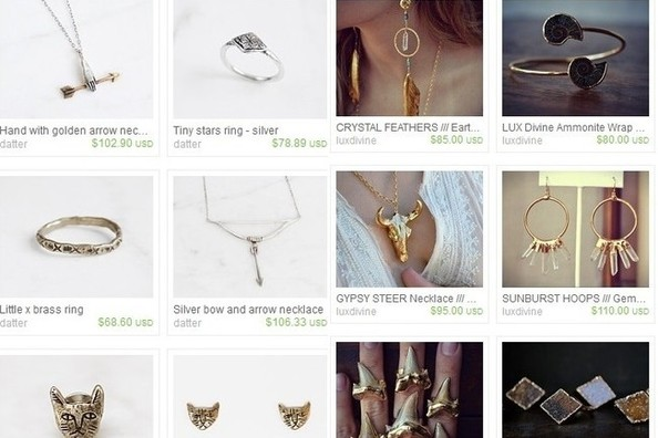 How To Navigate Etsy For Jewelry
