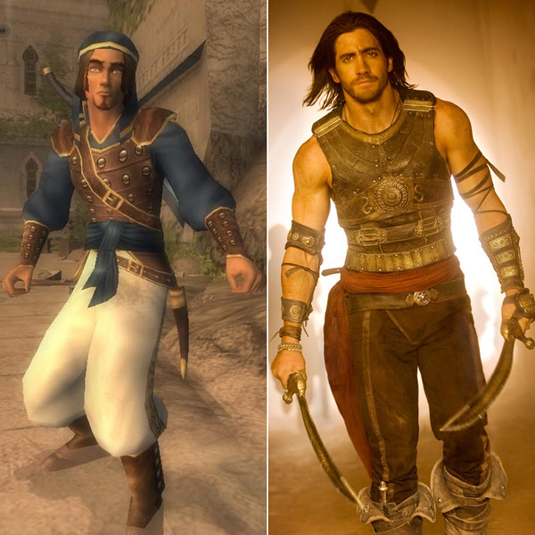 Jake Gyllenhaal in 'The Prince of Persia' - Video Game ...