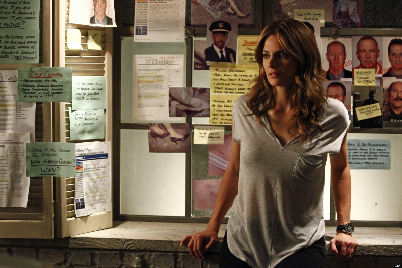 Stana Katic Reveals She Was Hurt After Being Fired From