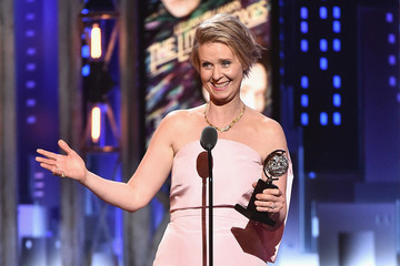 Cynthia Nixon Channels the Great Miranda Hobbes With Strong Political Message at Tony Awards
