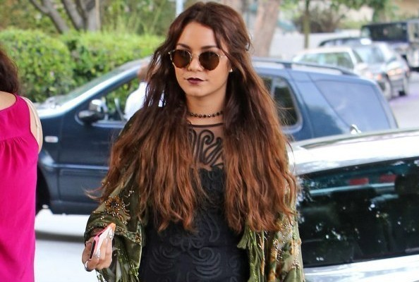 Vanessa Hudgens Is a Layering Machine