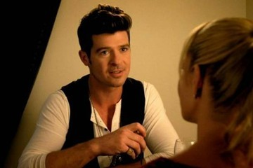 Robin Thicke's Acting Debut Will Make You Laugh Then Cry