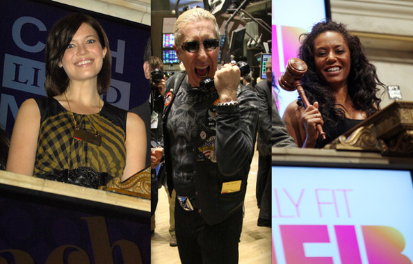 Celebs Ring the Bell at the New York Stock Exchange