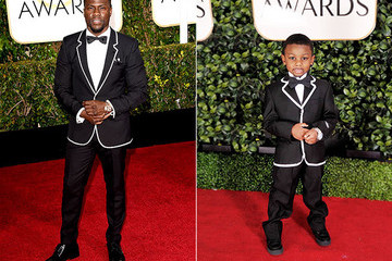 Check Out Hilariously Weird Kid Versions of This Year's Golden Globes Gowns