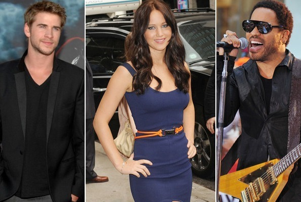 Stars of 'The Hunger Games'