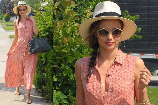 Miranda Kerr's Perfectly Preppy Summer Style
