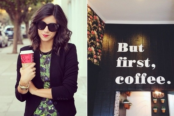 #FF: Five Instagrams That Combine Coffee and Fashion