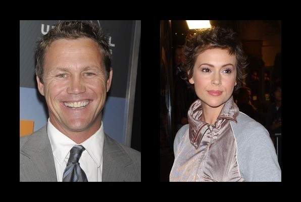 Brian Krause dated Aly...