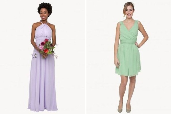File it Under &quot-Genius&quot-: Bridesmaid Dresses for Rent - Reimagine ...