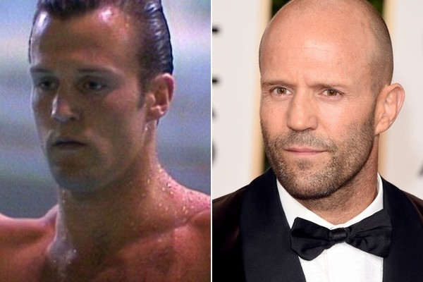 jason statham   famous bald celebrities when they had hair
