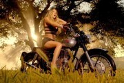 Mariah Carey Gets Sexy on a Motorcycle in Her New '#Beautiful' Music Video
