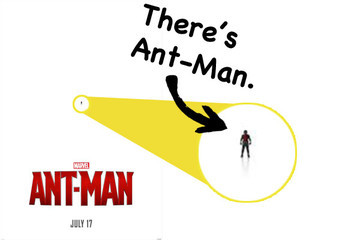 'Ant-Man' Is Literally About the Size of an Ant on the New Poster