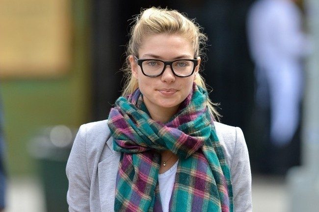 Jessica Hart's Geek-Chic Outfit