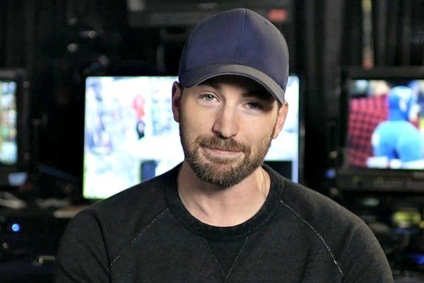 Allow Chris Evans to Trick You into Going Down a Dark Hallway for the Sake of Charity