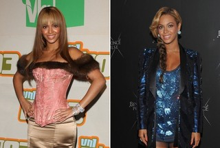 Then and Now - Beyonce Knowles