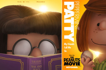 Peppermint Patty and Marcie Get Their Own 'Peanuts Movie' Posters