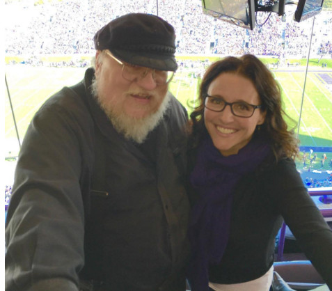 Are 'Game of Thrones' Author George R.R. Martin and 'Veep's' Julia Louis-Dreyfus Besties Now?