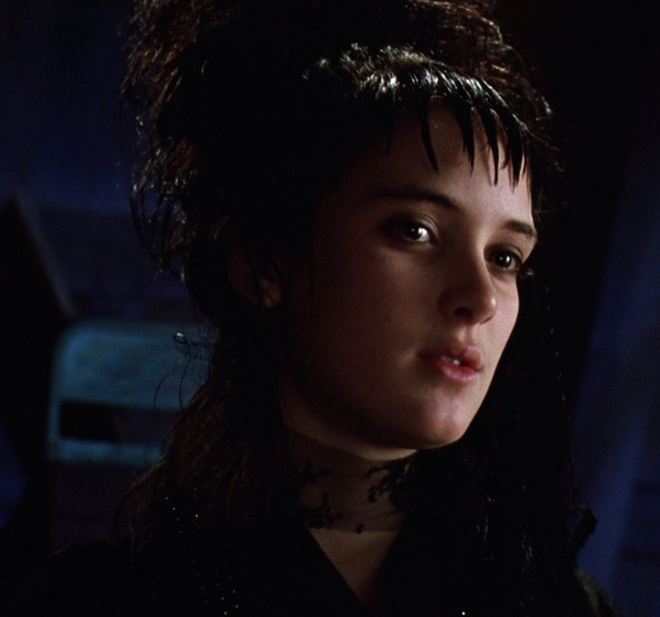 Lydia Deetz In Beetlejuice The Most Goth Movie Characters Ever Zimbio