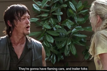 Zombies Sing and Daryl Flaunts His Party Plans in This 'Bad Lip Reading' of 'Walking Dead'