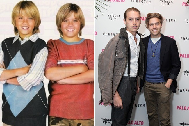 Zack & Cody ★ Then And Now - YouTube
