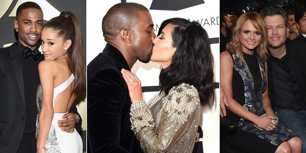 The Cutest Couples at the 2015 Grammys