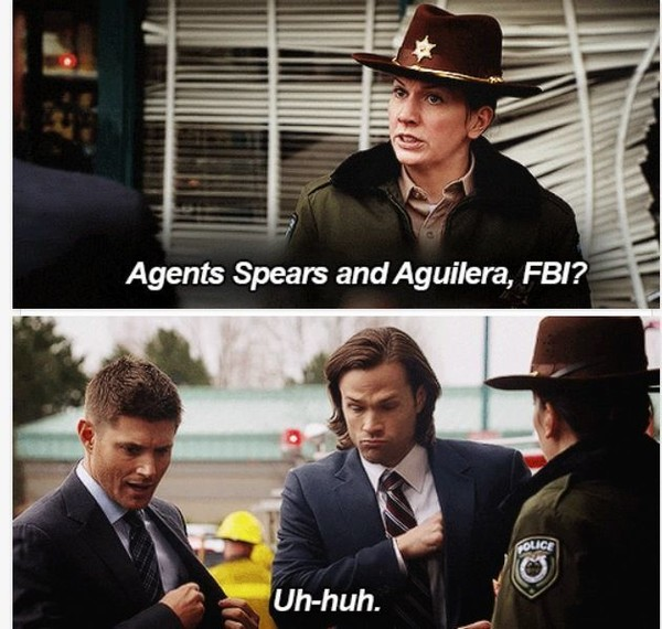 The Aliases, 'Supernatural' - The Funniest Running Jokes In TV History - Zimbio