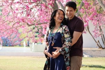 Crazy Rich Asians Actor Harry Shum Jr. And Wife Shelby Rabara Are Expecting Their First Child