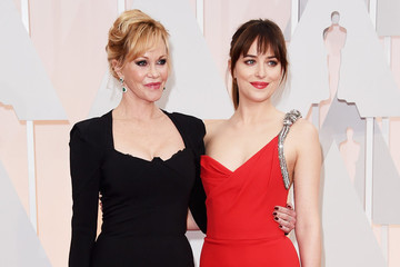 Stars Who Brought Their Moms to the 2015 Oscars
