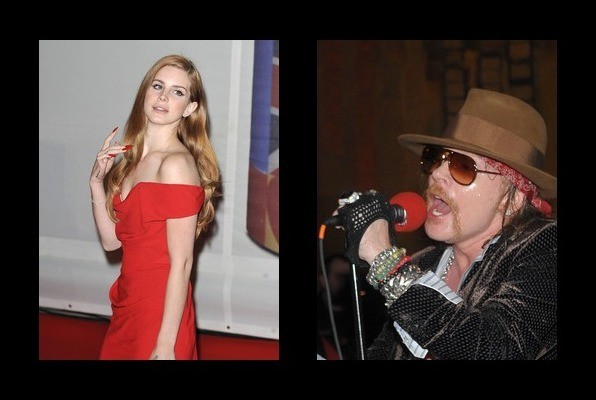 Lana Del Rey was rumored to be with Axl Rose