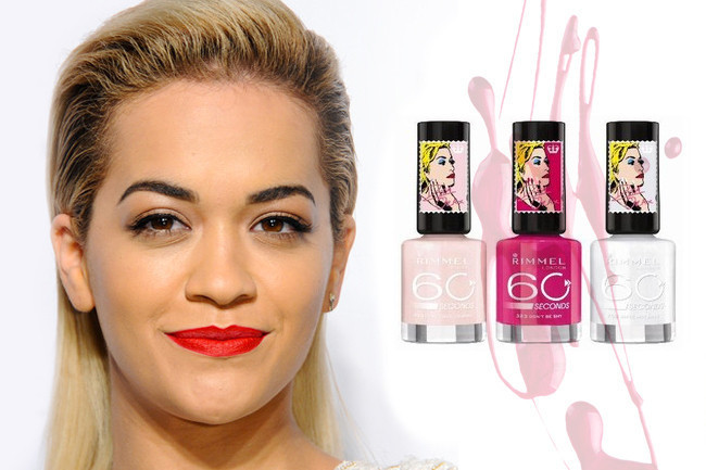 You've Got to Check Out Rita Ora x Rimmel's Nail Polishes