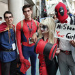 Doctor Strange, Spider-Man, Harley Quinn, and Deadpool