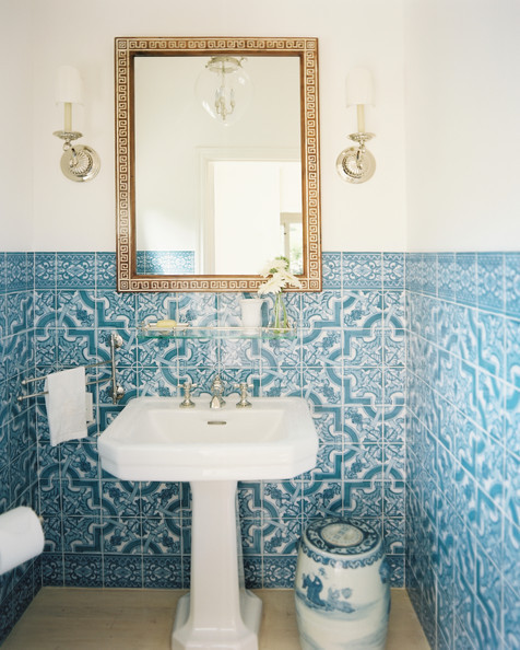 Bathroom inspiration | Lonny.com