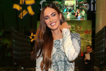 Megan Fox Gets Her 'Ninja Turtles' on in Mexico