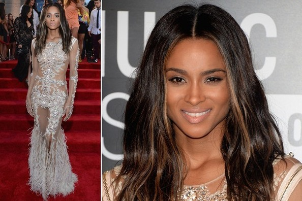 Ciara's Divine Couture Gown at the VMAs
