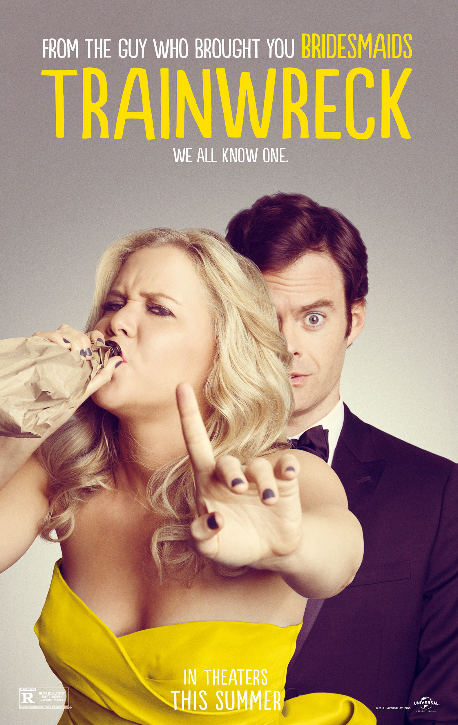 Funny, Filthy 'Trainwreck' Stays on the Right Track
