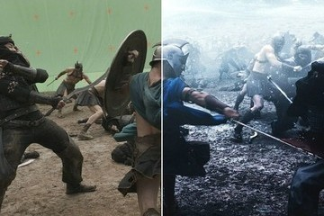 These Before & After Photos Show How Mind-Blowing Movie Special Effects Really Are