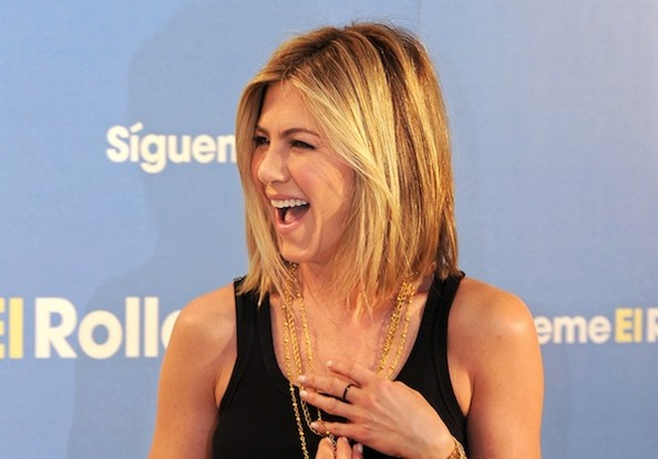 jennifer aniston hair bob 2011. Actress Jennifer Aniston