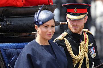 Meghan Markle Looks Stunning At Trooping The Colour 2019