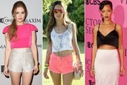 The Cutest Celebrity Crop-Tops