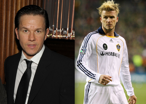 Mark Wahlberg David Beckham