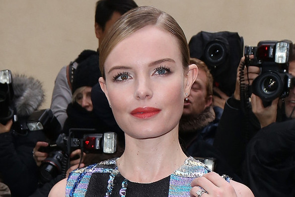 Kate Bosworth's Glistening Plaid