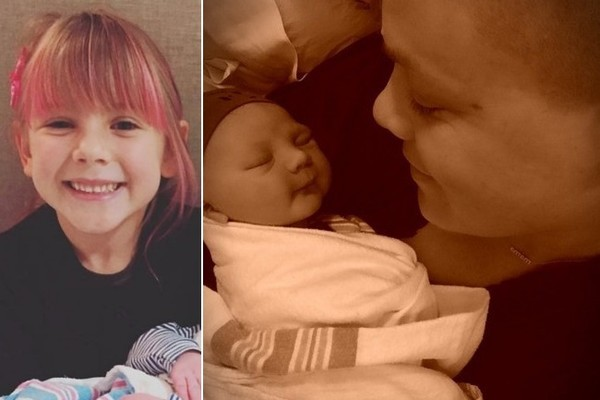 Pink's Daughter Willow Sage Holds Baby Brother Jameson in Adorable New Pic